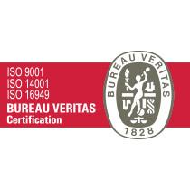 Certificado isos-bureau-veritas